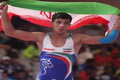 کشتی گیر شیرازی نخستین مدال جاکارتا را برای فارس کسب کرد