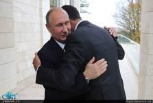 دیدار پوتین و اسد+ تصاویر