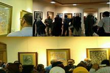 پنجمین نمایشگاه تخصصی نگارگری در اصفهان برپا شد