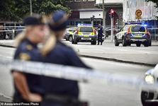 عکس/ تیراندازی در سوئد