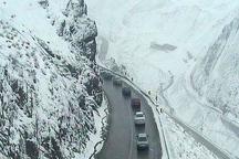 ترافیک سنگین و نیمه سنگین نوروزی در جاده های کندوان و هراز