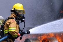 آتش سوزی خط سراسری انتقال بنزین در شوش مهار شد