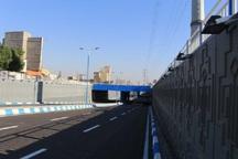 پل زیرگذر بعثت بیرجند تعمیر و تجهیز شد
