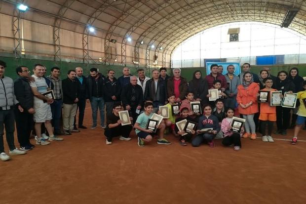 چهره های برتر تنیسور آذربایجان شرقی مشخص شدند