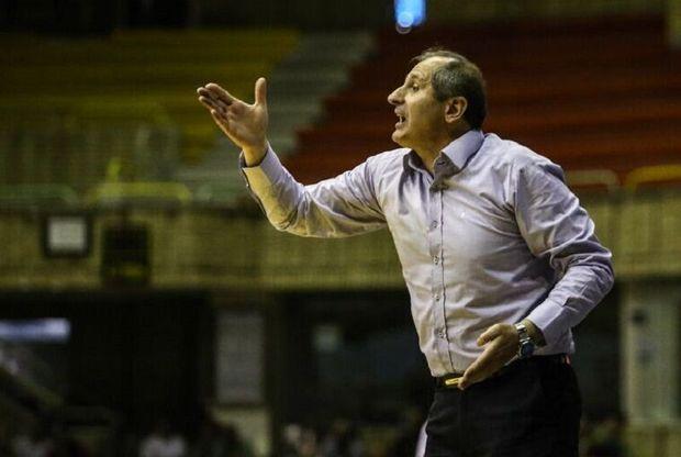سرمربی تیم بسکتبال مهرام: پیروزی مقابل پتروشیمی کار آسانی نبود