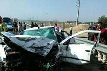 تصادف پراید و سمند در جنوب تهران 3 کشته برجای گذاشت
