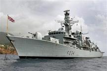 سومین کشتی جنگی انگلیس در راه خلیج فارس