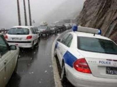 بارش باران در محورهای ارتباطی البرز ضرورت احتیاط بیشتر رانندگان