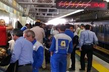 تجمع برخی کارگران یک شرکت پیمانکاری مترو تهران