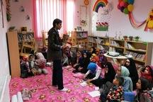 کودکان مهریزی با مهارت زندگی طبق سیره حضرت فاطمه (س) آشنا شدند