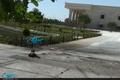 لحظه انفجار عامل انتحاری حمله تروریستی در محوطه بیرونی حرم مطهر امام خمینی (س)