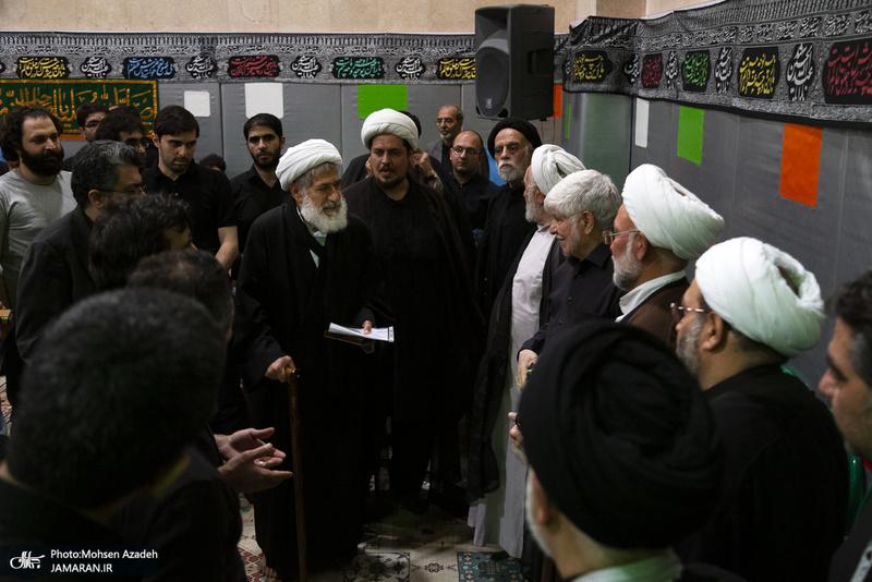 مراسم احیای شب بیست و یکم ماه در محضر استاد امجد