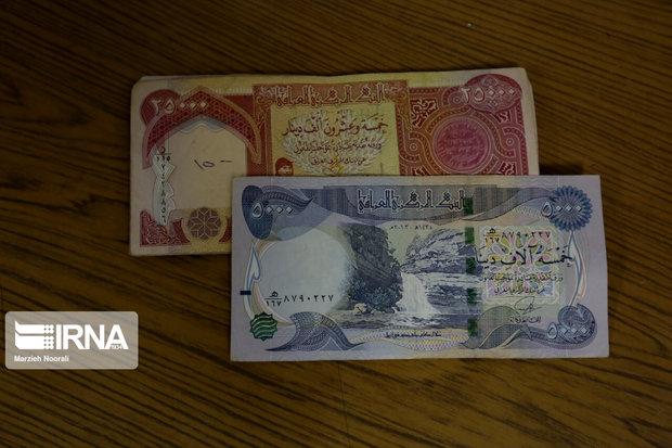 رونق خرید و فروش دینار عراقی در مرز چذابه
