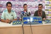 سرمربی تیم فوتبال سایپا تهران: میتوانستیم از صنعت نفت آبادان امتیاز بگیریم