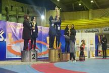 بانوان همدان با چهارمدال رنگارنگ نایب قهرمان کشتی کلاسیک کشور شدند