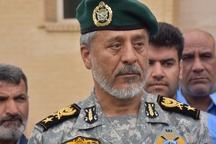 نیروی انسانی ارتش خوزستان برای مقابله با سیل کافی است