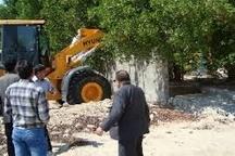 قلع و قمع 33 مورد ساخت و ساز غیرمجاز در اراضی کشاورزی سوادکوه