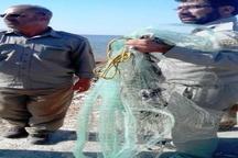 دستگیری دو صیاد غیر مجاز ماهی در تالاب هورالعظیم