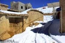 بارش برف راه ارتباطی 30 تا 40 روستای آذربایجان شرقی را بست