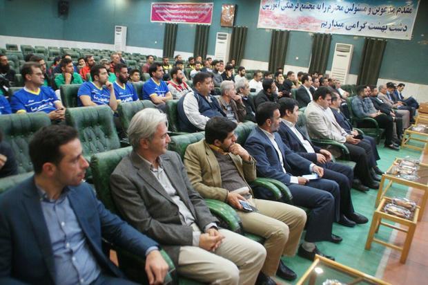 تیم صبای تهران قهرمان لیگ فوتبال دستی  کشور شد