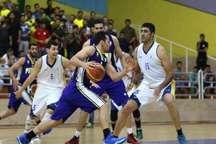 نوار پیروزی بسکتبال پالایش نفت آبادان و پتروشیمی بندر امام قطع شد