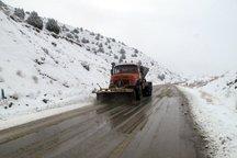 جاده های برفگیر گلستان مشکل تردد ندارد