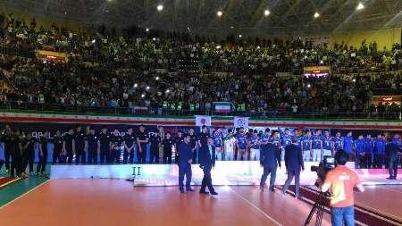 حاشیه های بازی فینال رقابت های والیبال زیر 23 سال آسیا بین ایران و ژاپن