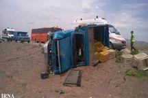 تصادف در جاده شاهیندژ - تکاب یک کشته برجا گذاشت