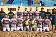 دوازدهمین شکست ملوان بندرگز در لیگ برتر فوتبال ساحلی