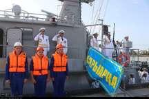 ناوگروه صلح و دوستی قزاقستان، ایران را ترک و به کشورش بازگشت