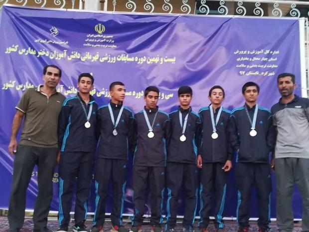 کانون فجر دشتی قهرمان دو دانش آموزان ابتدایی کشور شد