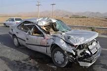 برخورد 2 خودرو در جغتای پنج مصدوم داشت