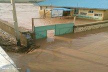سیل به 80 مدرسه در دلفان خسارت وارد کرد