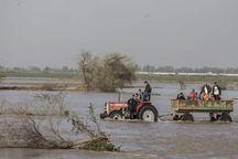 روستای کلاته سنجر اسفراین تخلیه شد