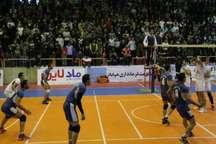 تیم والیبال مقاومت فرمانداری مهاباد عقاب تهران را زمین گیر کرد  پیروزی 3 بر صفر تیم مهاباد