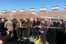 افتتاح 4طرح عمرانی، بهداشتی و خدماتی درشهرستان طالقان
