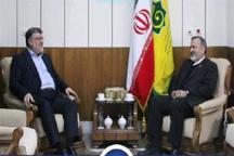 استاندار خراسان جنوبی با رئیس سازمان حج و زیارت دیدار کرد