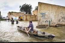 سرریز تالاب شاگان سیل را به روستاها کشاند