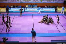 پایان مسابقات کبدی و مردان جام رمضان در قزوین