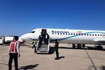 وزیر نیرو وارد فرودگاه رامسر شد