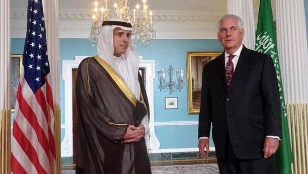 وزرای خارجه آمریکا و عربستان در واشنگتن دیدار کردند