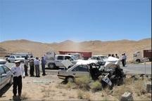 تصادفات جاده ای خراسان جنوبی افزایش یافت