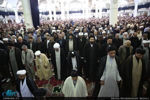 حضور سید حسن خمینی در نماز جمعه قم