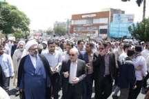 استاندار قم: روز قدس روز تبلور وحدت امت اسلامی است