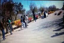 8 نفر بر اثر سانحه برخورد موتور با تماشاگران در دانشگاه ارومیه مصدوم شدند