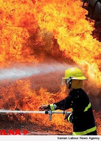 روز تلخ برای آتشنشانان کشور  شهادت مامور آتشنشانی بر اثر برق گرفتی