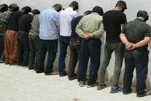 دستگیری 11 سارق خیابانی در نیشابور