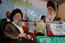 نماینده ولی فقیه در خوزستان: ایران اسلامی به برکت خون شهدا جزیره ثبات و امنیت در منطقه است