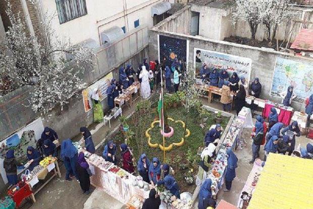 مدرسه درخشش تالش مقام سوم جشنواره خوارزمی گیلان را کسب کرد