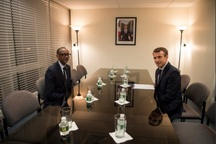 عکس/ دیدار بی سابقه دو رئیس جمهور